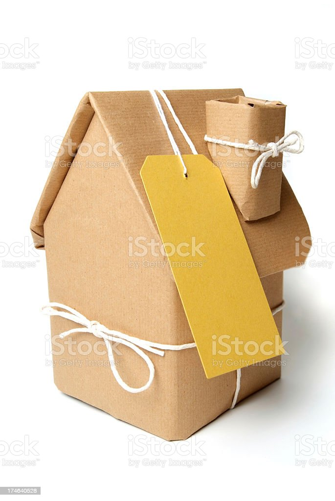 House Gift royalty-free stock photo