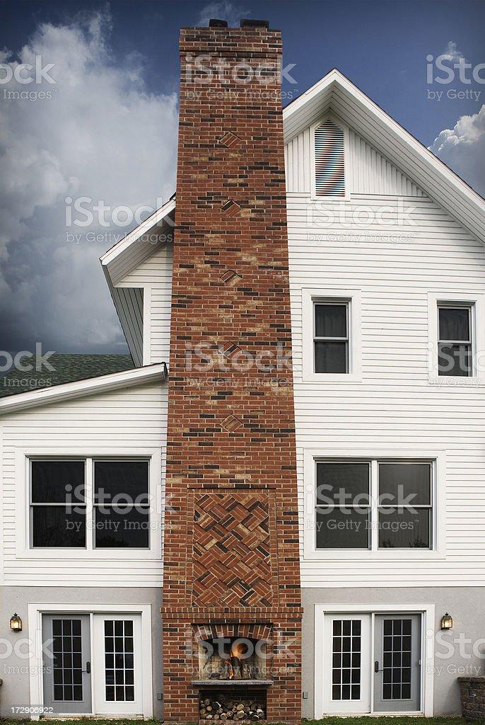 House heart stock photo