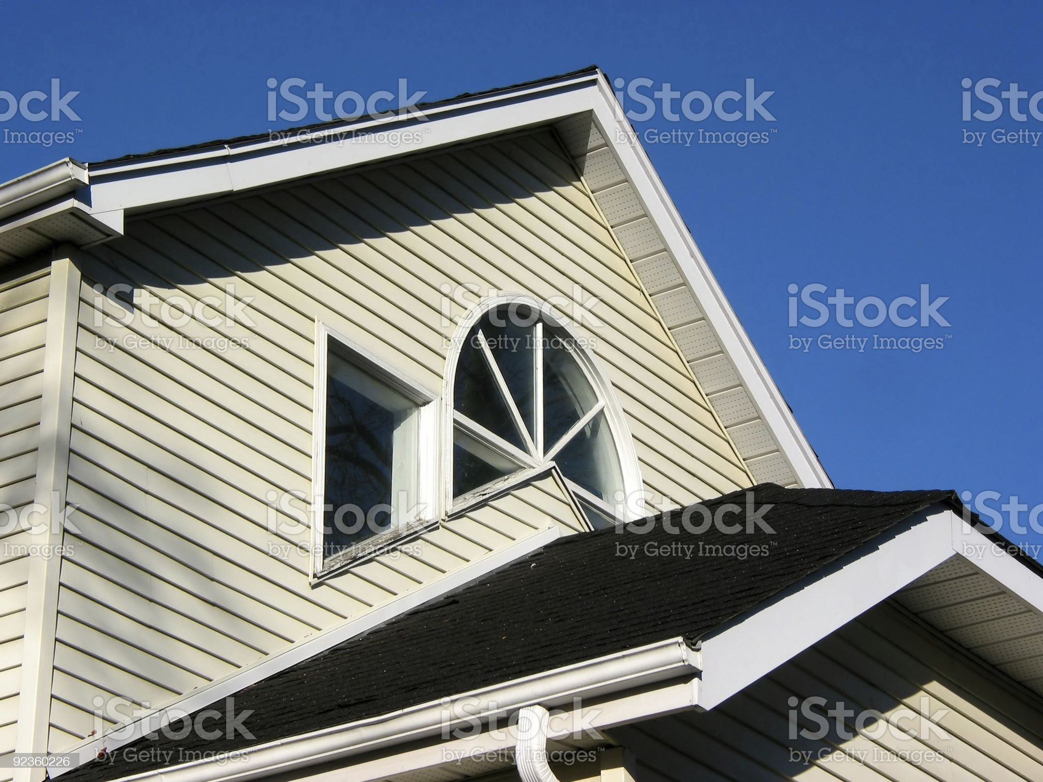 House home fragment royalty-free stock photo