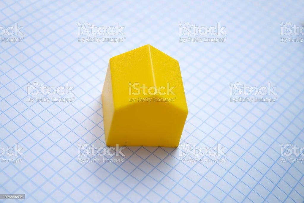 house house planing stock photo