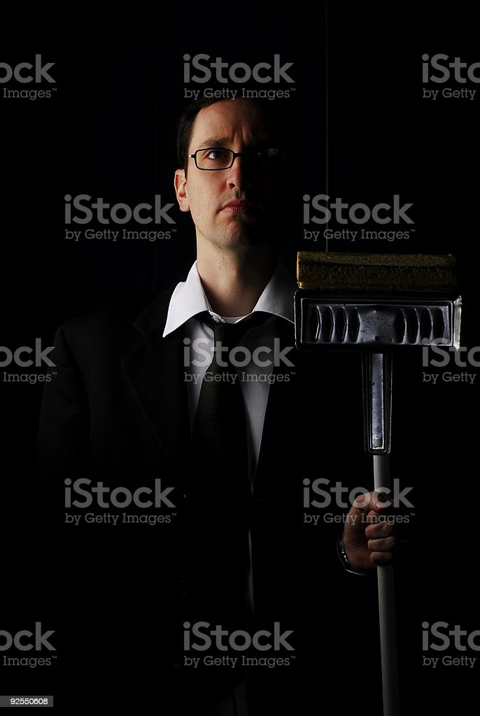 house husband royalty-free stock photo