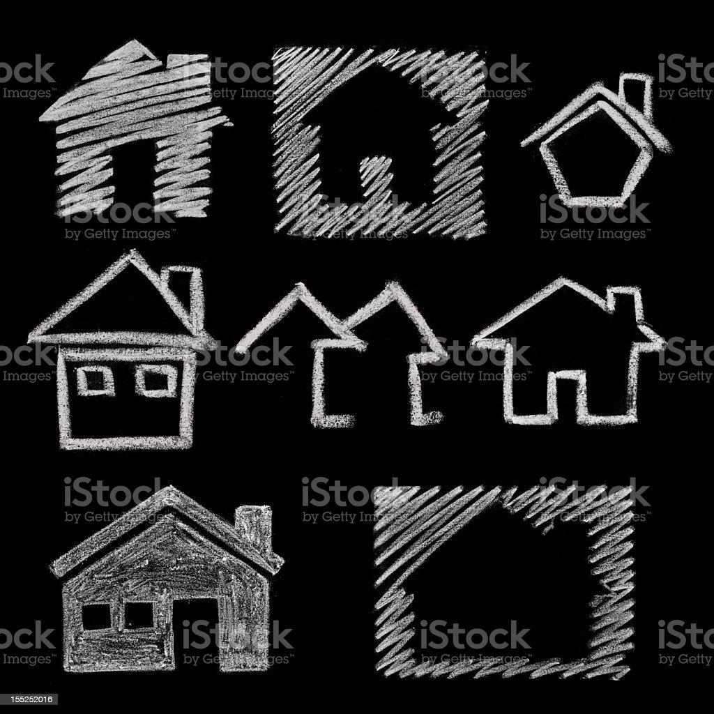 house icon stock photo