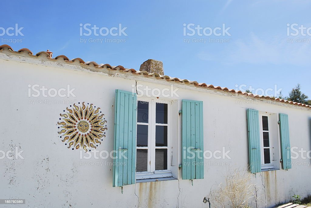 House in Camargue, Provence (France) stock photo