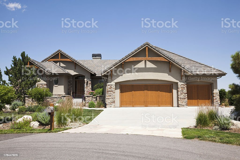 House in Colorado royalty-free stock photo
