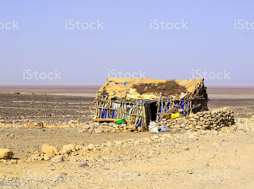 House in Hamed Ela stock photo