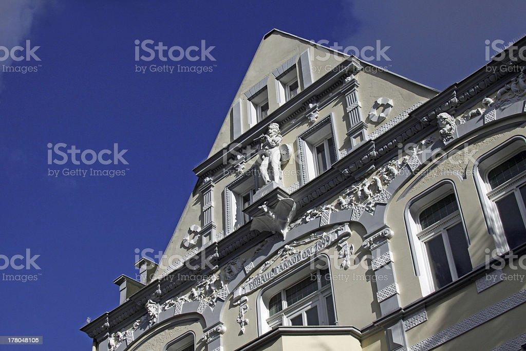 House in Hameln stock photo
