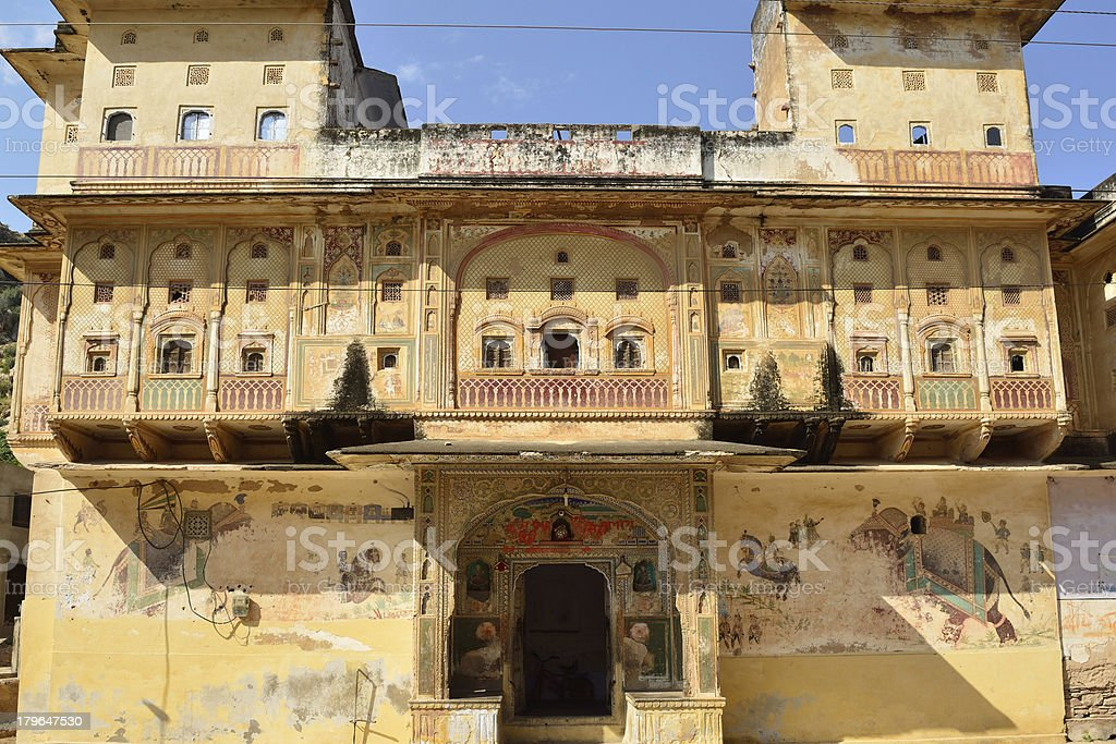 House in India royalty-free stock photo