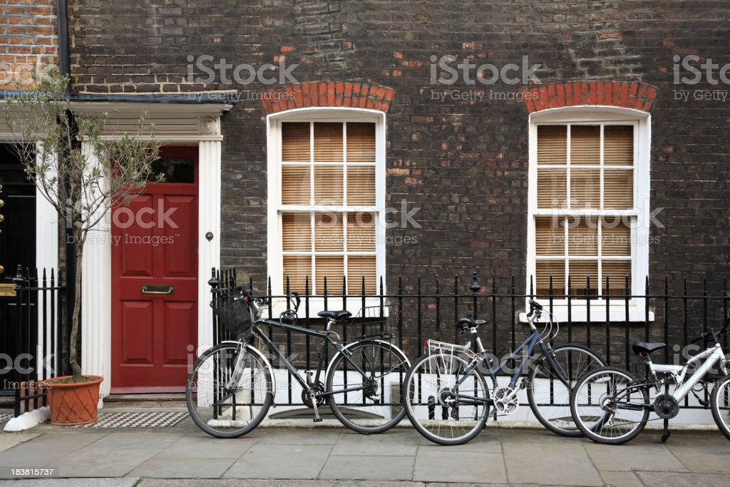 House in London stock photo