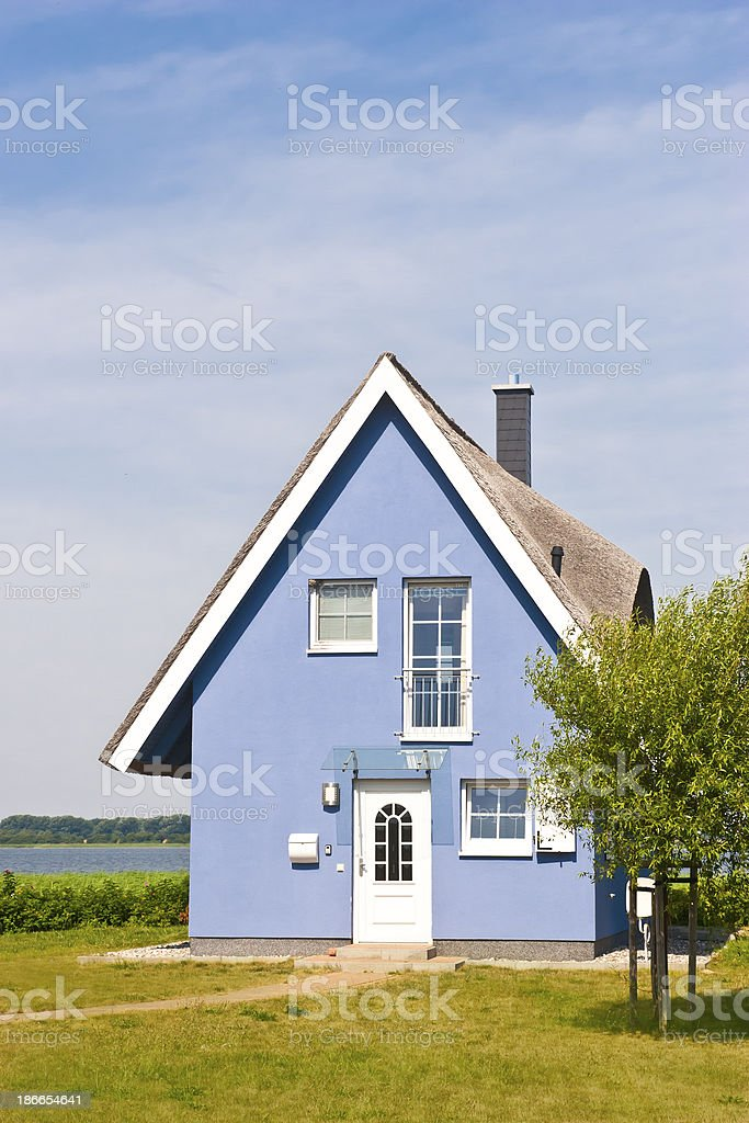 House in North German style royalty-free stock photo