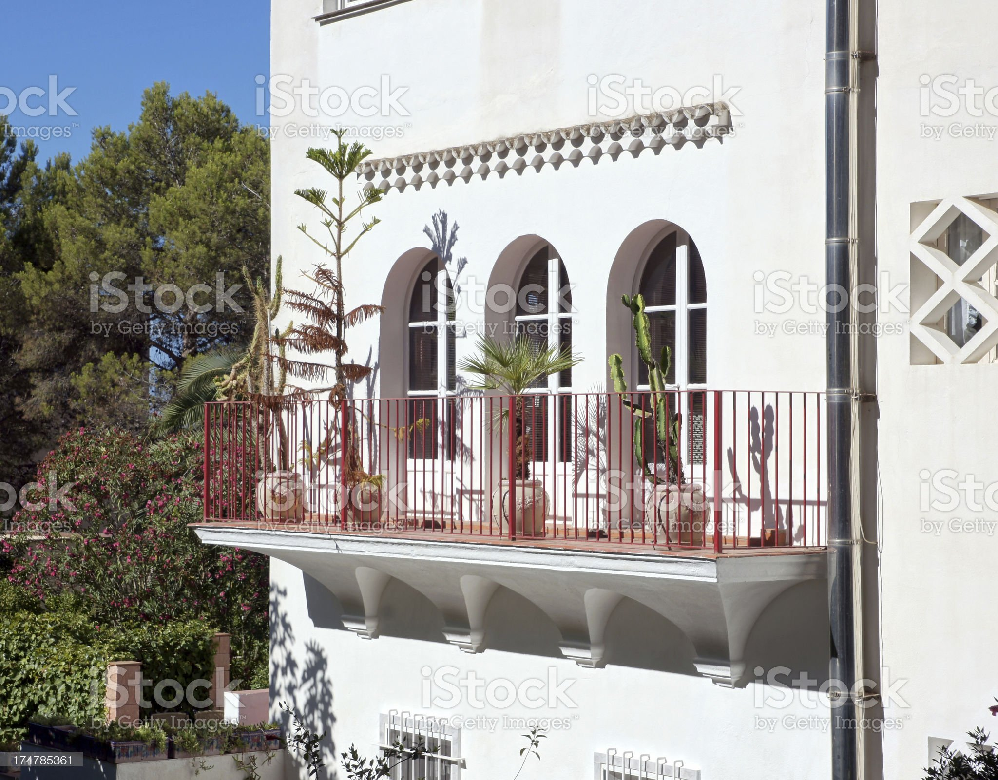 House in Peguera royalty-free stock photo