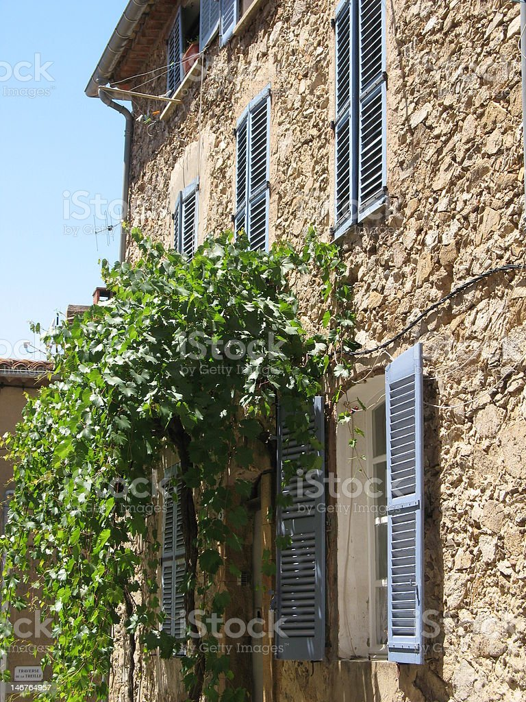 House in southern france royalty-free stock photo