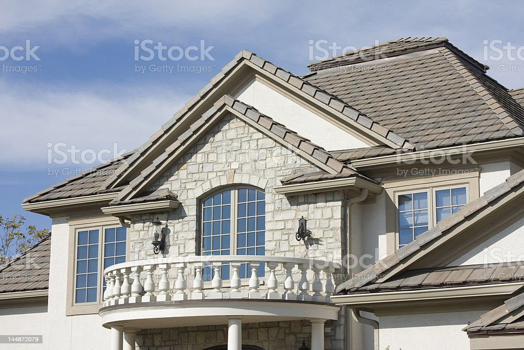 House in Suburbia royalty-free stock photo