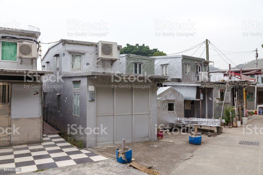 House in Tai O Lantau Island Hong Kong stock photo