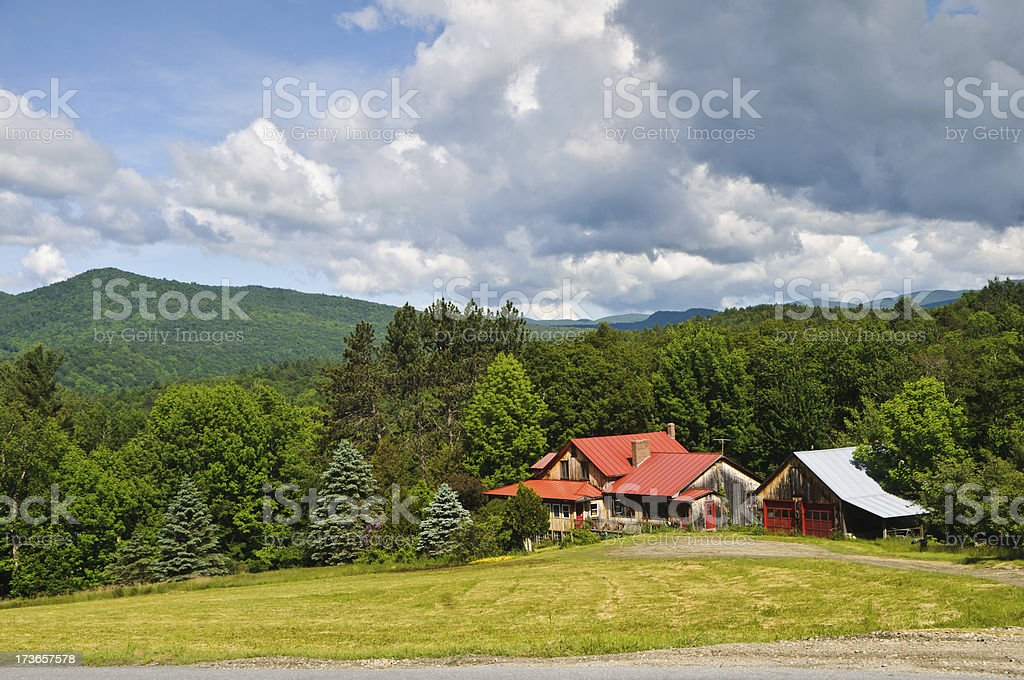 House in the Country royalty-free stock photo