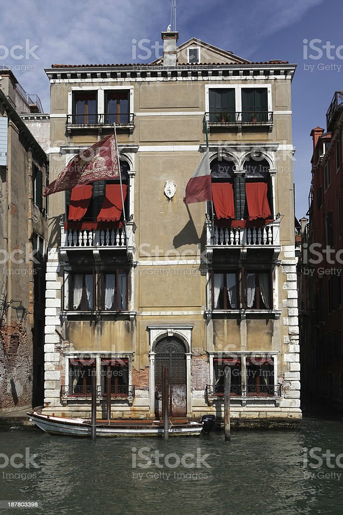 House in venice (italy) royalty-free stock photo