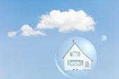 House inside air bubble