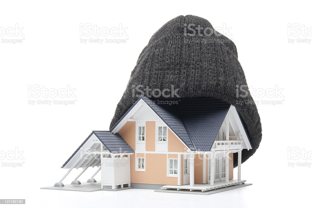 House insulation stock photo