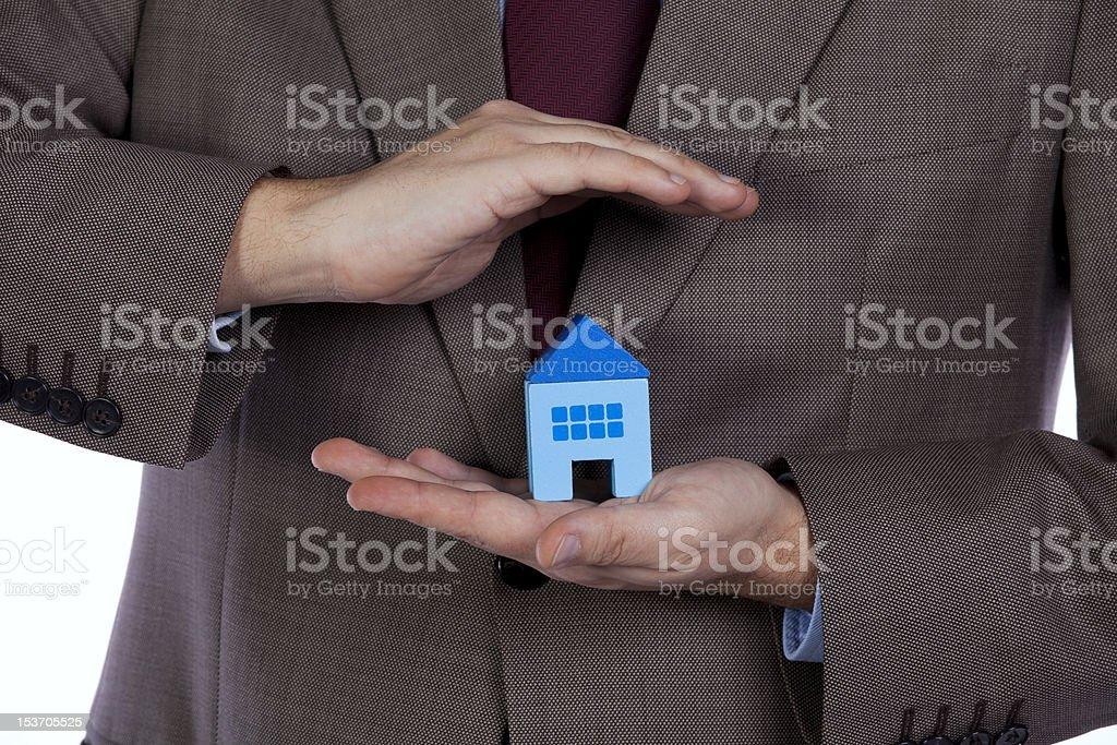 House Insurance royalty-free stock photo