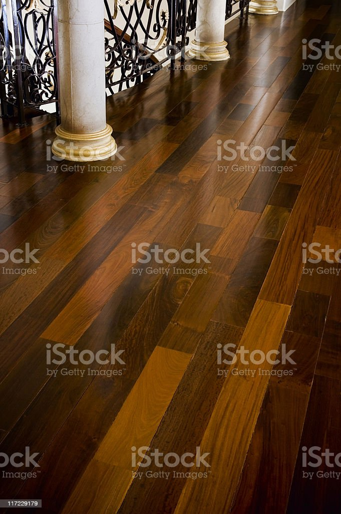 House Interior of Hardward Floor royalty-free stock photo