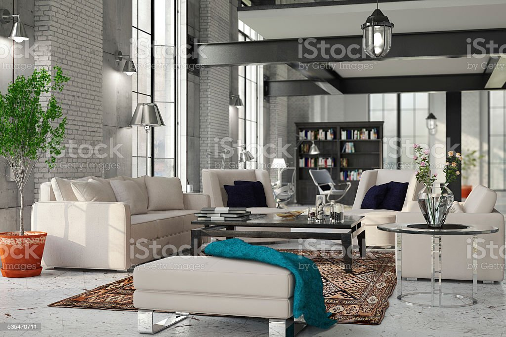 House Interior stock photo
