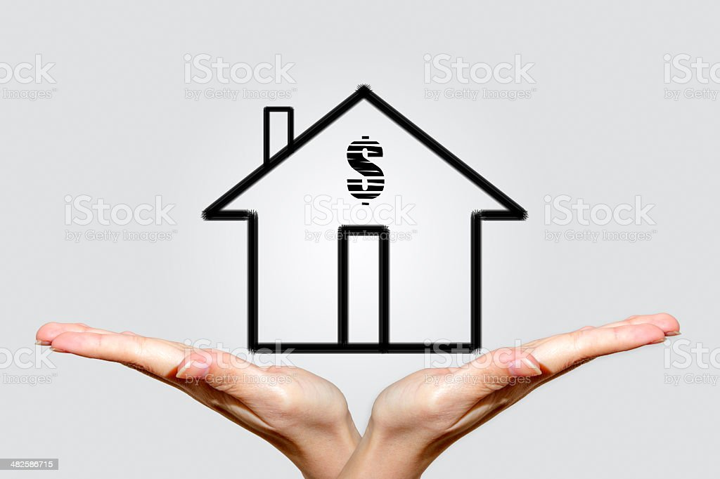 House Investment Concept royalty-free stock photo