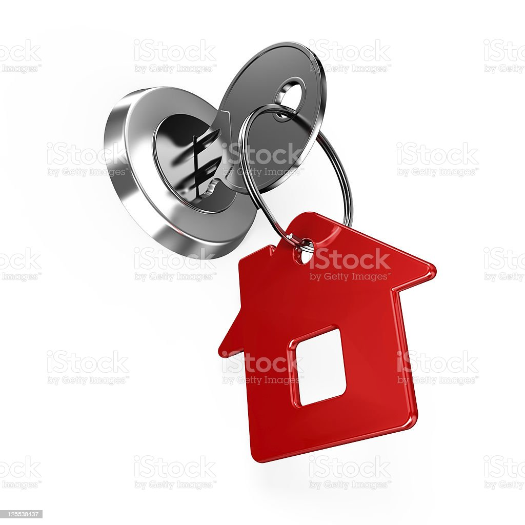House key royalty-free stock photo