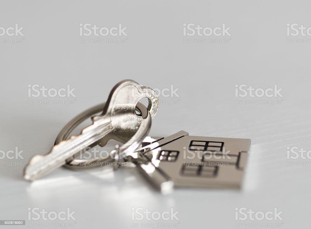 House key stock photo