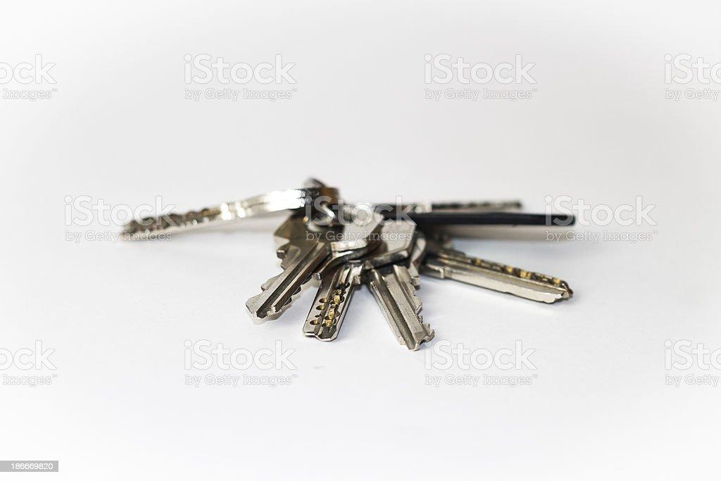 House keys royalty-free stock photo