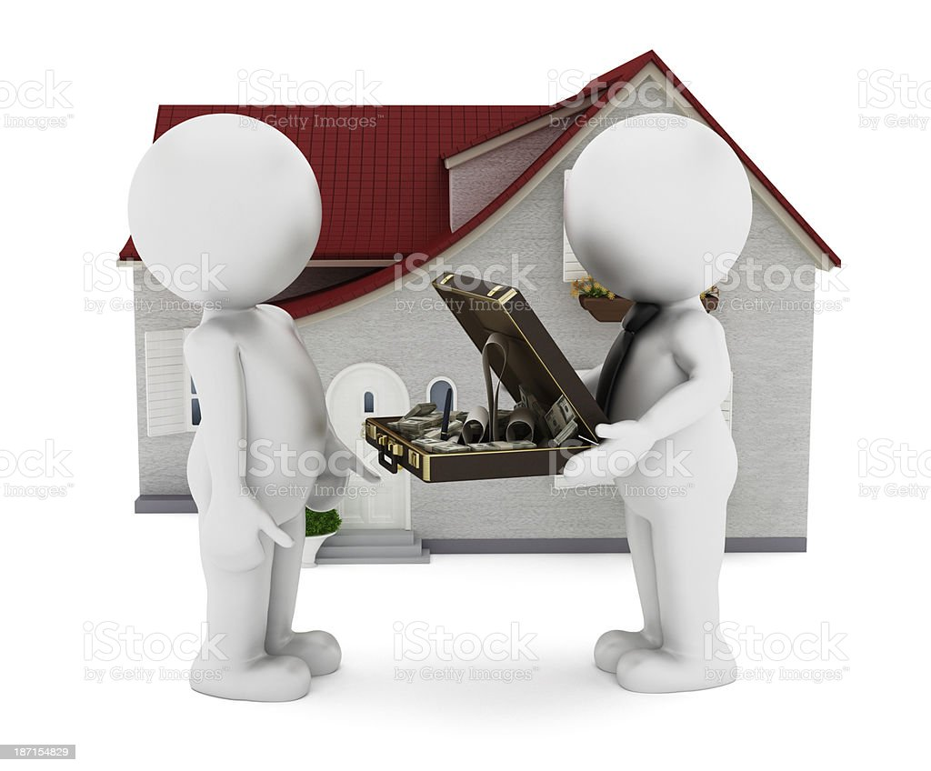 House loan stock photo