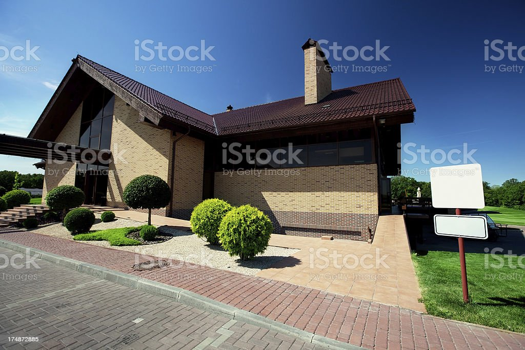 House lux royalty-free stock photo