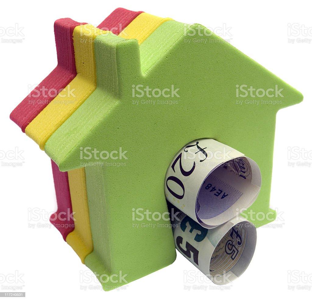 UK House Market royalty-free stock photo