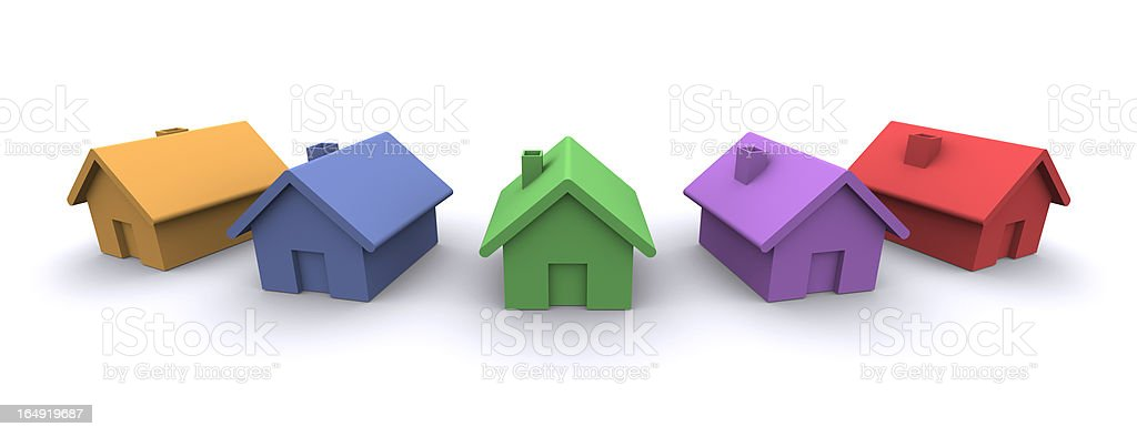 House Market royalty-free stock vector art