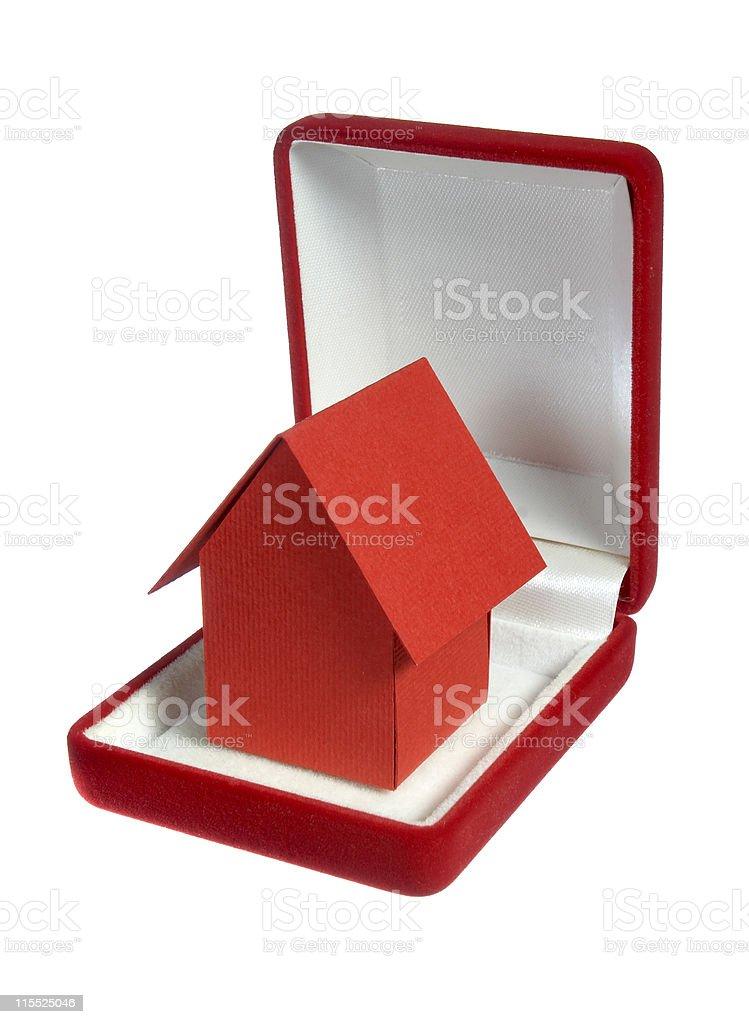house miniature stock photo