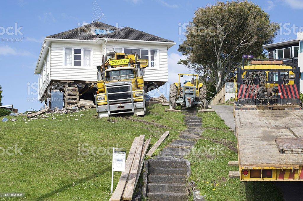 House Move royalty-free stock photo