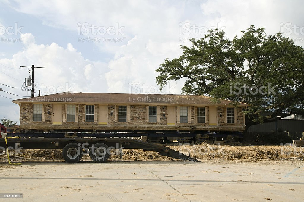 House Moving royalty-free stock photo