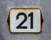 House number 21