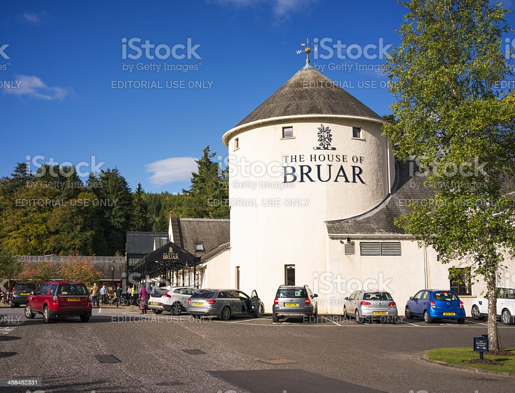 House of Bruar in Scotland stock photo
