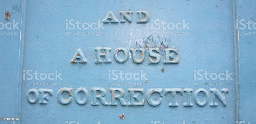 House of Correction stock photo