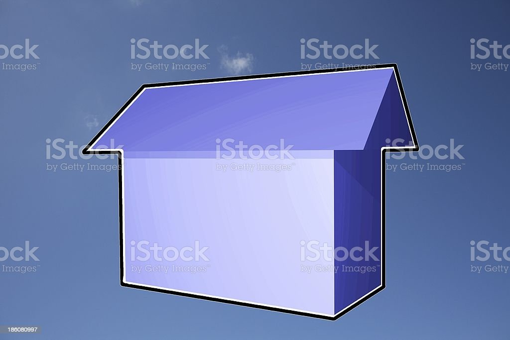 house of dreams royalty-free stock photo