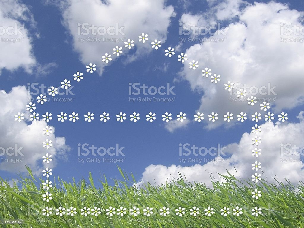 house of dreams stock photo