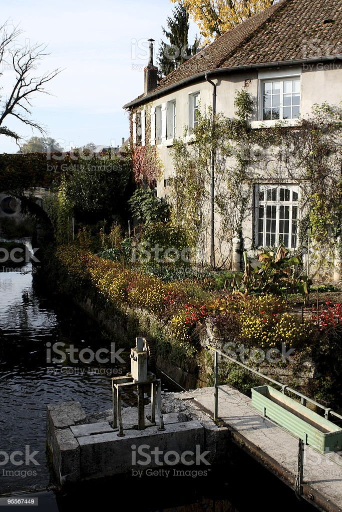 House of Franche-Comt?, France stock photo