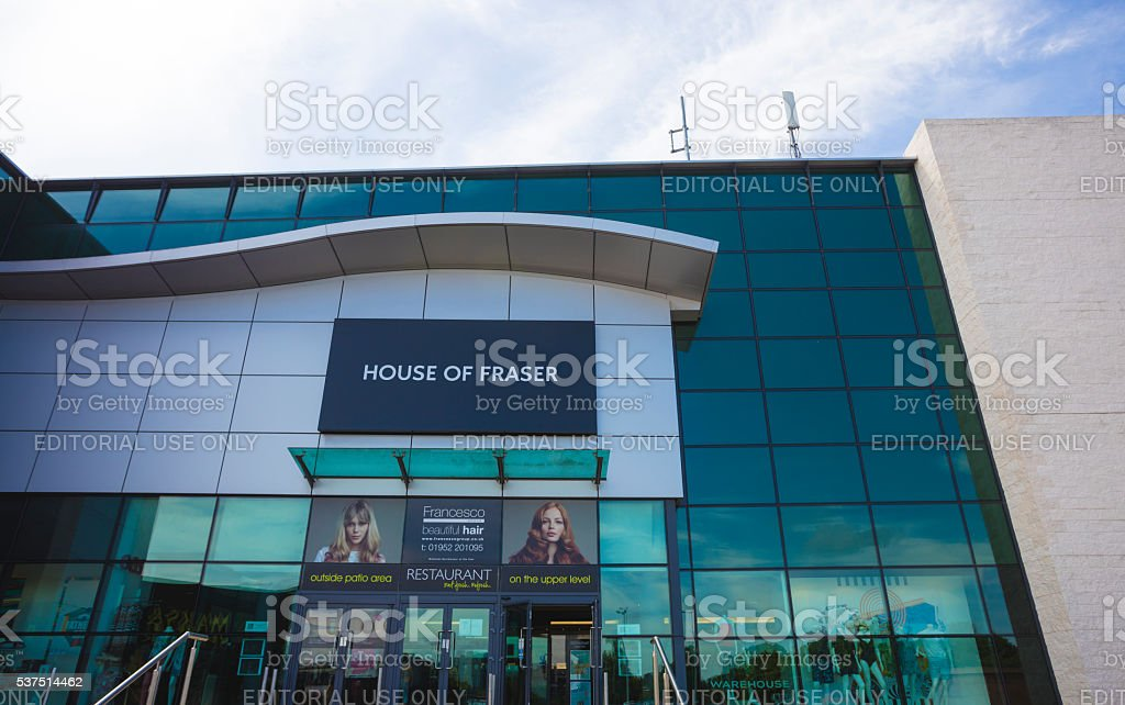 House of Fraser stock photo