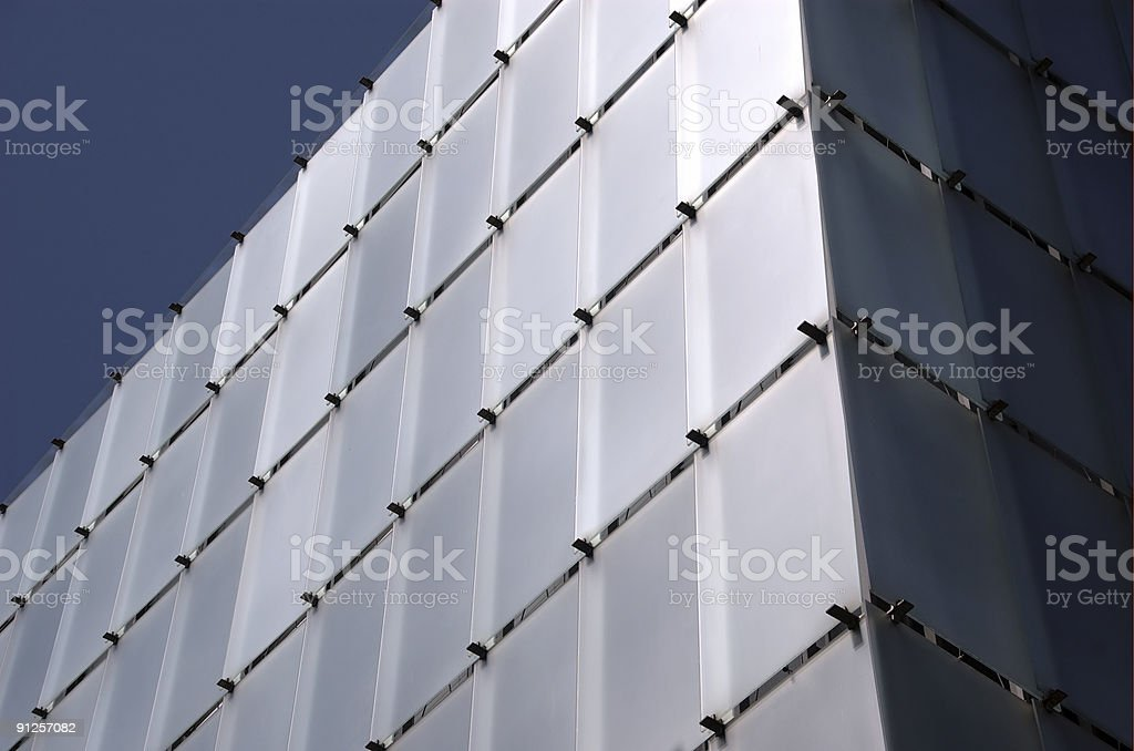 house of glass stock photo