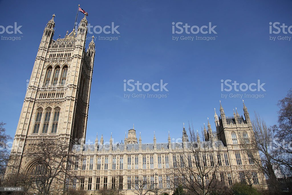 house of lords stock photo