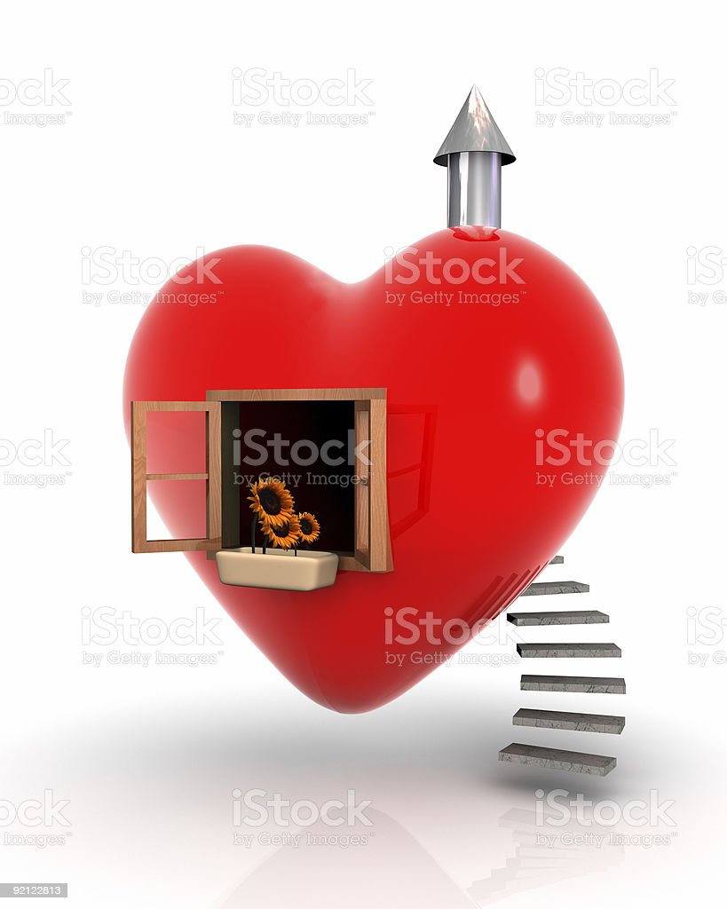 House of love stock photo