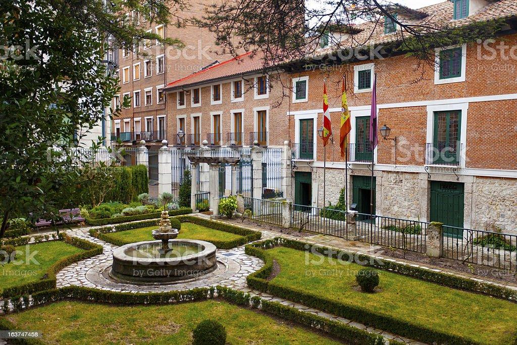 House of Miguel de Cervantes royalty-free stock photo