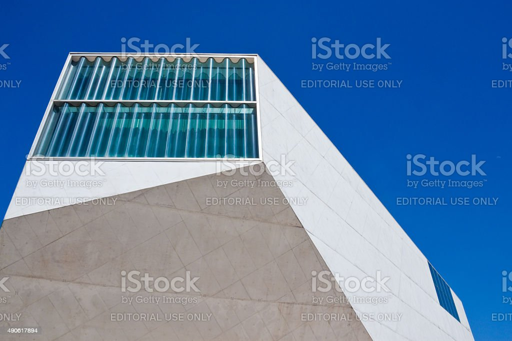 House of Music (Casa da Musica) in Porto. stock photo