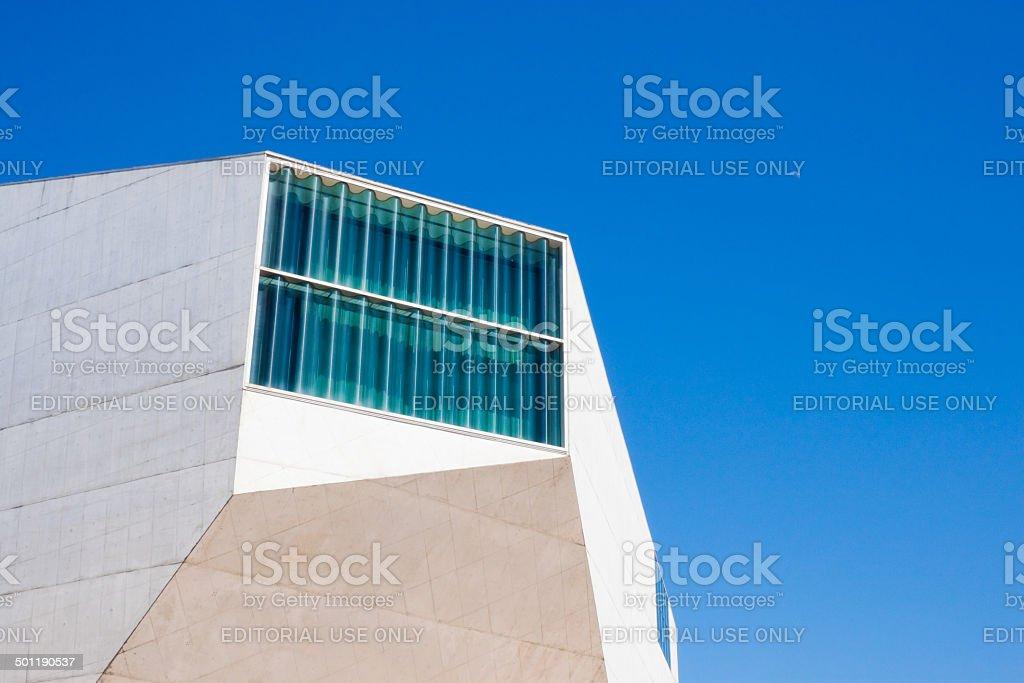 House of Music (Casa da Musica) in Porto. stock photo