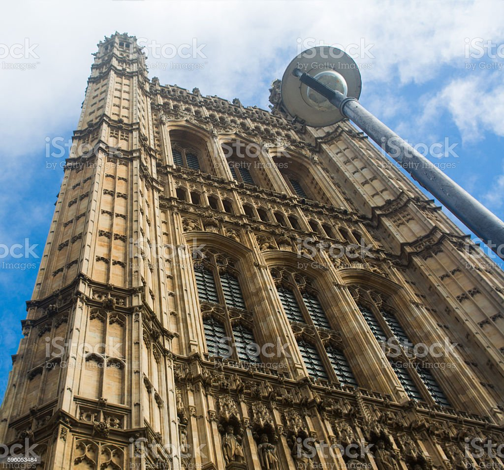 House of Parliament in London royalty-free stock photo