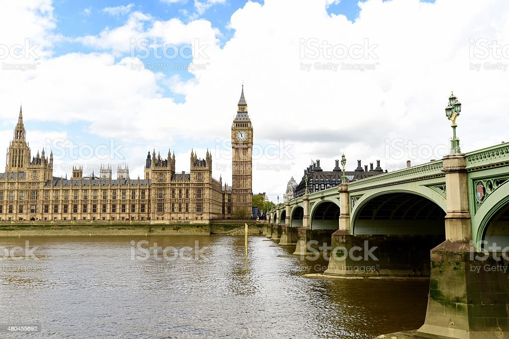 House of Parliament, London stock photo